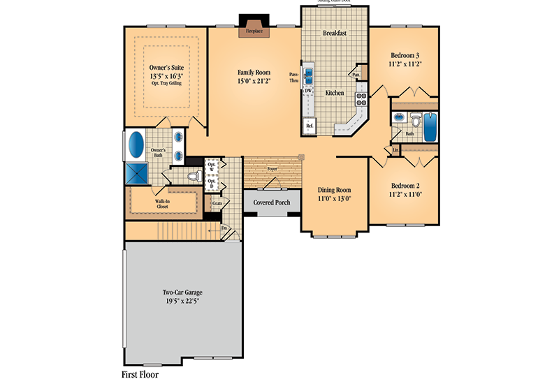 Wilshire Homes Oxford Floor Plan Home Design And Style